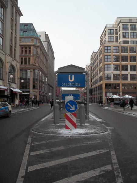U-Bahn Stadtmitte
