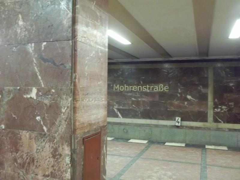 U-Bahn Mohrenstrasse