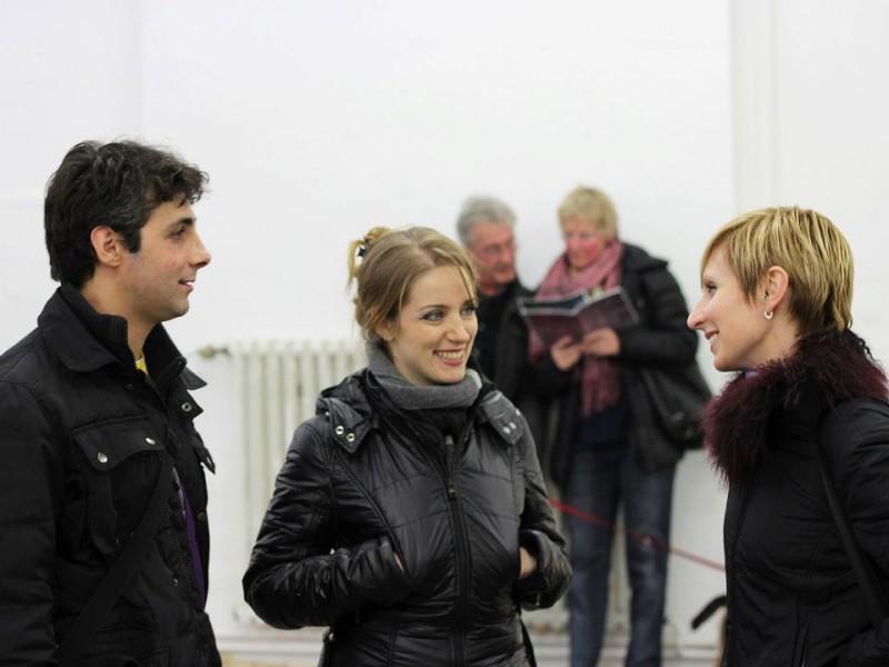 Giuseppe Gonella e Lorella Paleni con Chiara Da Riva