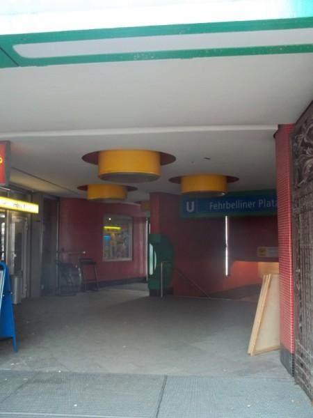 Fehrbelliner Platz U-Bahn