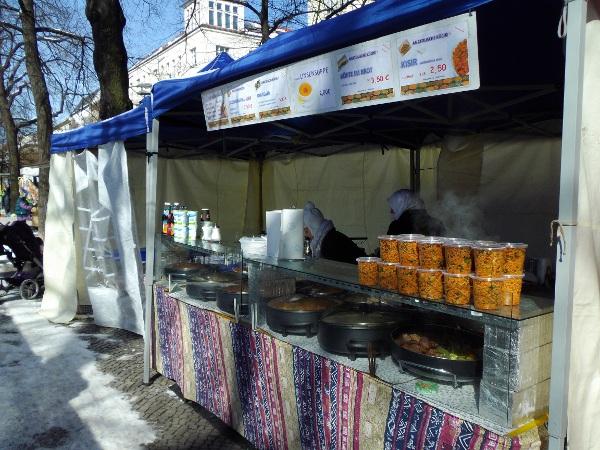 Wochenmarkt am Boxhagener Platz