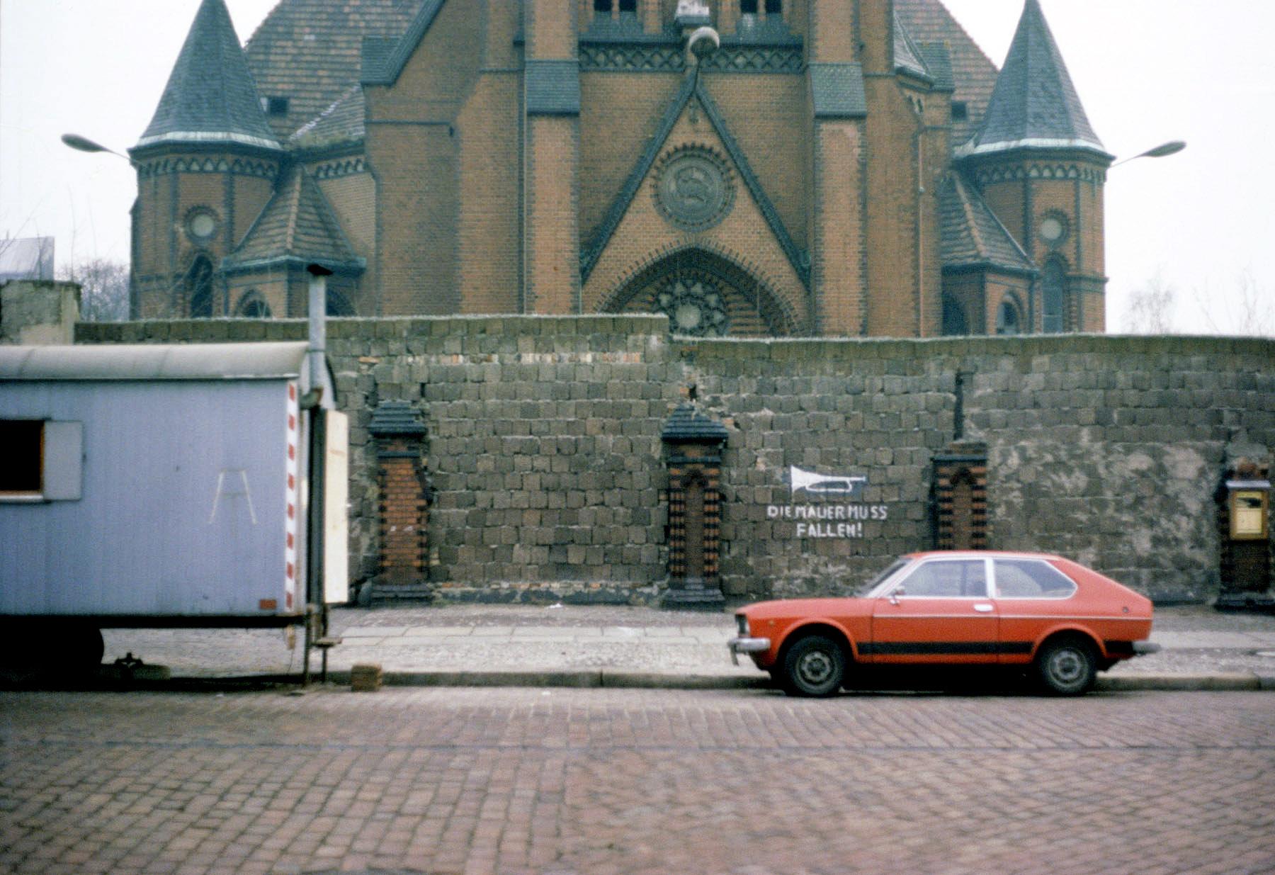 Versöhnungskirche Bernauer Straße, 12. gennaio 1978