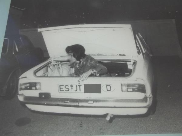 Tentativo di fuga scoperto dalla Stasi