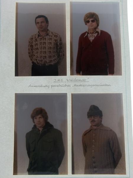 Travestimenti agente Stasi