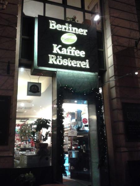 Berliner Kaffeerösterei a Charlottenburg
