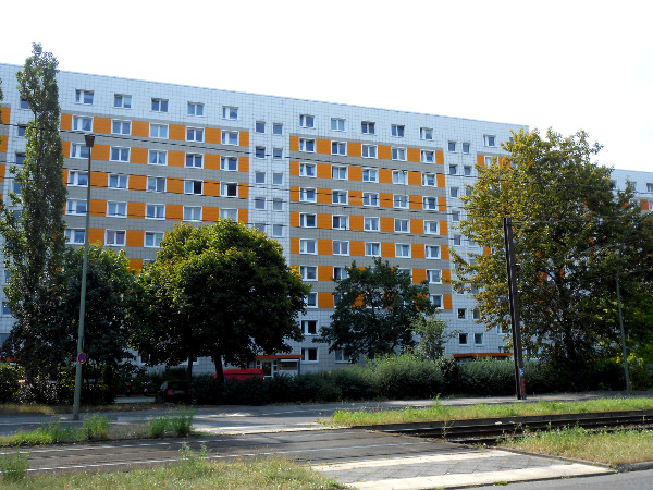 Plattenbau Berlino est