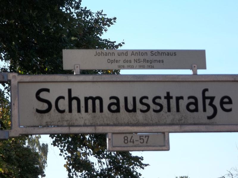 Johann e Aanton Schmaus - vittime del regime nazista