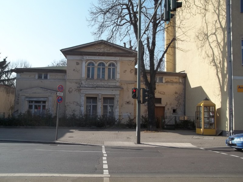 casa in cui Bertolt Brecht e Helene Weigel avevano vissuto fino al 1949