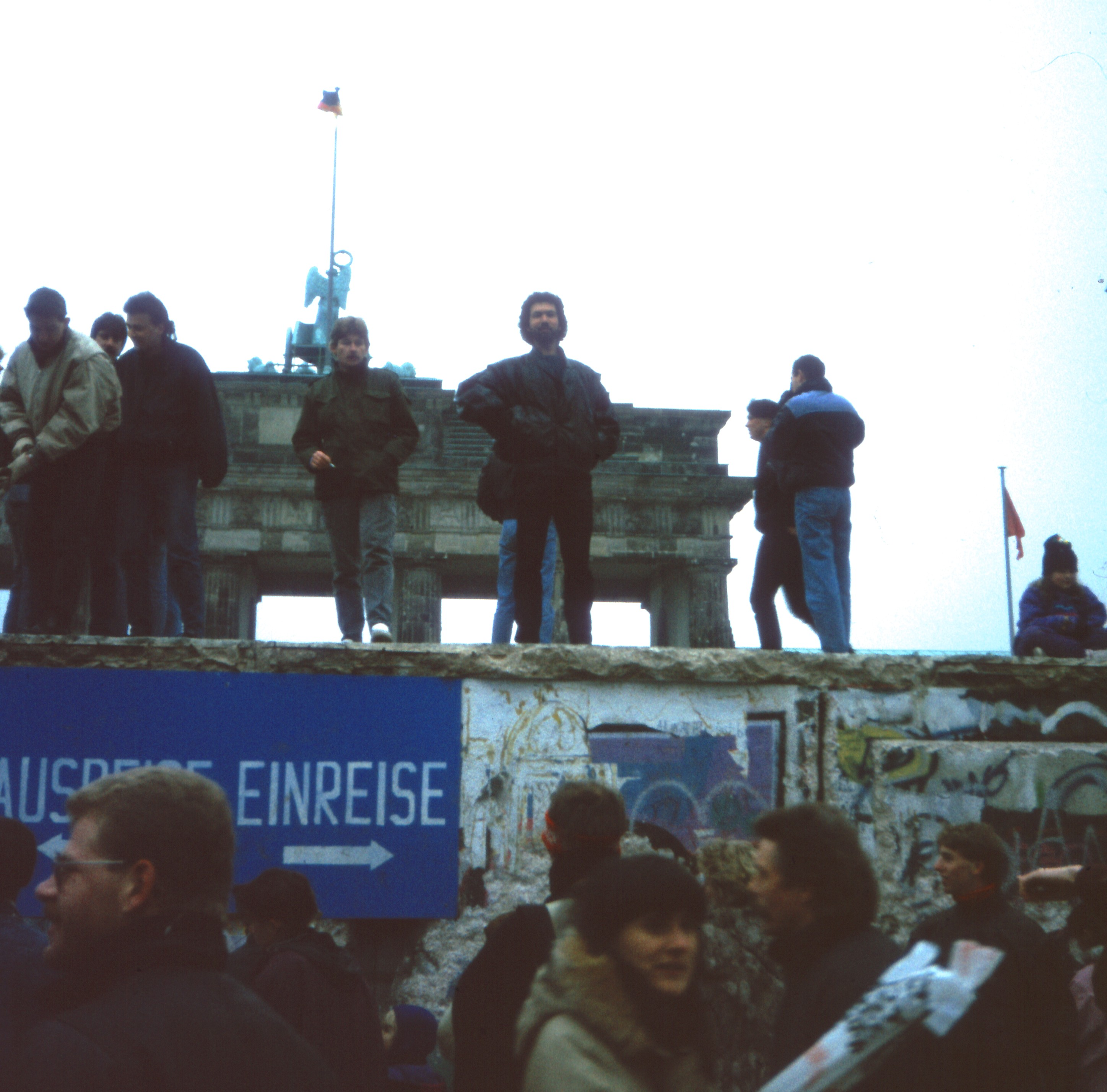 Brandenburger Tor 1989@Dr. Alexander Mayer