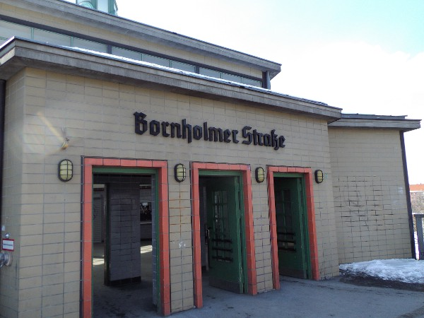 stazione di Bornholmer Strasse