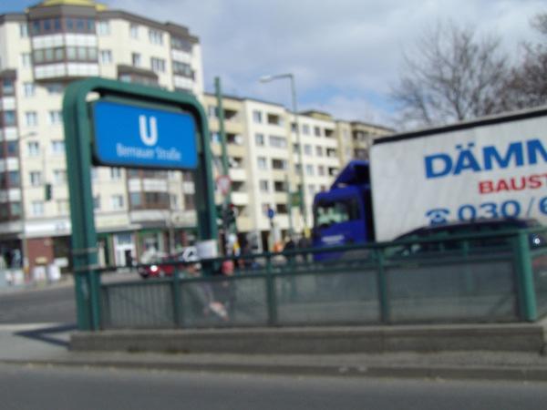 metropolitana Bernauer Strasse oggi