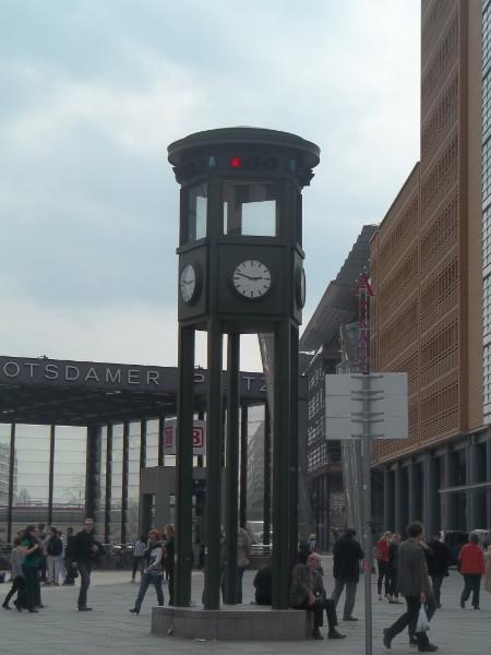 Verkehrsampel Potsdamer Platz