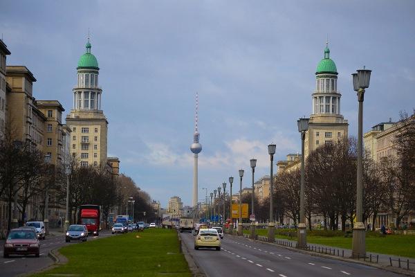 Karl-Marx-Allee/Frankfurter Allee - Foto@Alessandra Colagrande